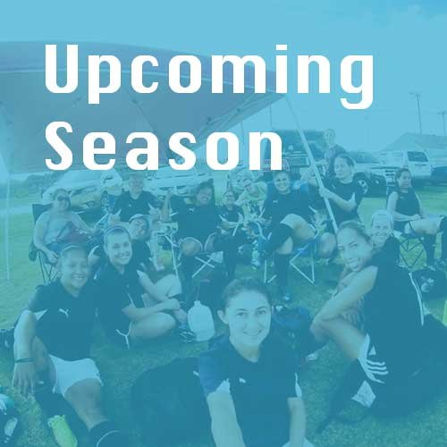 Upcoming Season - Register Now